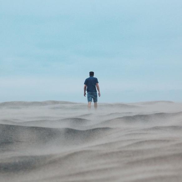 La primera tormenta de arena